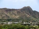View of Diamond Head from Waikiki Sunset Hotel