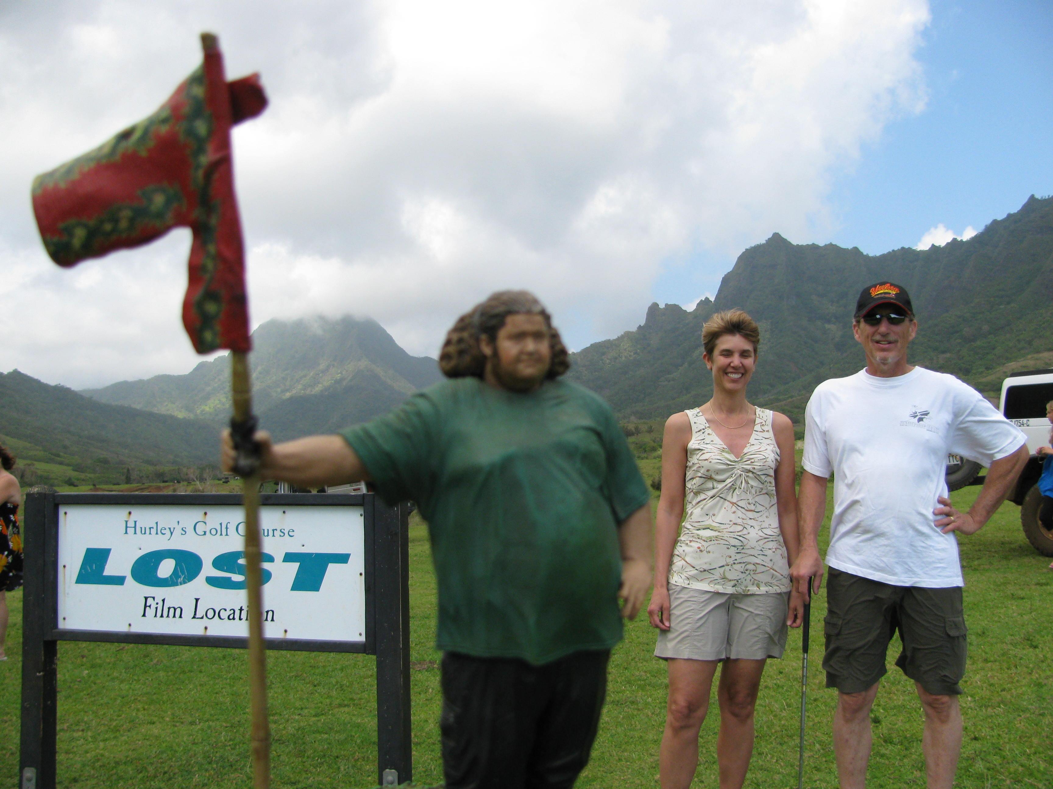 Inga & Steve, Hurley's Golf Course