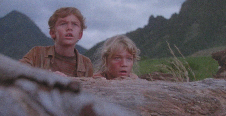 Original scene from Jurassic Park