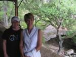 Shelly & Inga at Natural Bridges Cavern