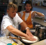 Tita & Nonie demonstrate how to make a torta
